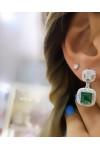 Emerald Bacchetta Küpe